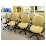 8 Tan Conference Chairs