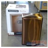 Tramontina Step Open Trash Can.