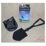 Brand New Tri-Fold Shovel, Pick Combo W/ Case.