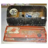 Metal Tool Box W/ Contents.