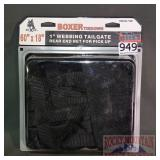 """New Boxer 60""""X18"""" Webbing Tailgate."""