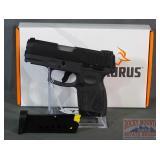 New Taurus G2s Slim 8-Shot 9mm SA Pistol.