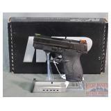 New S&W M&P9 Shield 9mm SA Pistol, HI VIZ Sights.