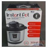 New Instant Pot Programmable Pressure Cooker.