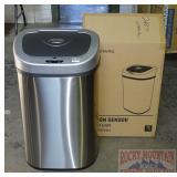 New Ninestars Motion Sensor Trash Can