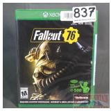"""New XBox One """"Fallout 76"""""""
