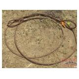 Heavy Braided Wire Cable.