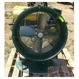 Air Max Industrial Fan W/ Stand.