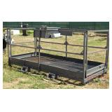 """Nice Fork Lift Cage.  49""""X9"""