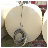 500 Gallon Fuel Tank W/ Nozzle.