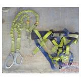 Sala Fall Protection Harness W/ Long Lanyard.