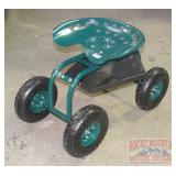 New Garden Scooter W/ Tractor Seat