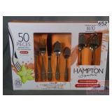 New Hampton Signature 50 Piece Flatware Set