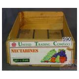 Wooden Fruit Crate.