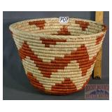 "Wonderful Hand Coiled 9"" Basket."