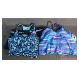 2 New Free Country 2 PC Swim Suit, L.