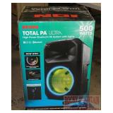 Ion Total PA Bluetooth PA System.