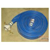 "Goodyear 2-1/2"" Rubber Fire Hose, Approx. 40"