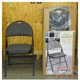 10 New MM Commercial Padded Folding Chairs.