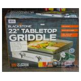 "New Blackstone 22"" Portable Tabletop Griddle."