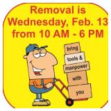REMOVAL TIMES