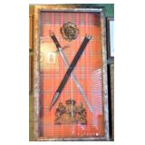 "Shadow Box with Sword (48"" X 26"")"
