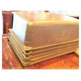 "Stainless Steel Full Size Food Pans (4"")"