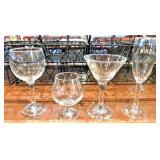 Assorted Bar Glasses