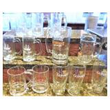 Assorted Beer Mugs and Glasses