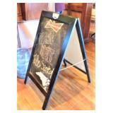 A Frame Chalk Board Sign