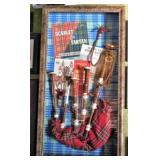 Shadow Box with Bagpipes
