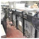 Center Island Power Supply System with Warmers