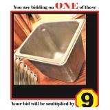 "Stainless Steel 1/6 Food Pans (6"")"