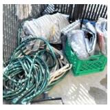 Assorted Tarps and Hoses