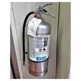 K Fire Extinguisher