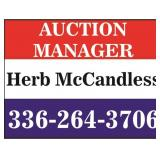 Auction manager-Herb McCandless 336-264-3706
