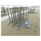 5 Metal Display Racks-Some Acc. (28X47X58h)