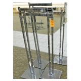 (4) 2-Way Display Rack, Adj. Height, 12X15