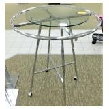 Round Display Rack, Adj. Height, 43 diameter