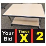 Merchandise Display Table, 32X50X25h