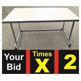 Merchandise Display Table, 32X60X31h
