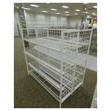 "Metal Gondola 8 Shelves, 36""X61""X60""h"