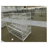 "Metal Gondola 6 Shelves, 36""X61""X60""h"