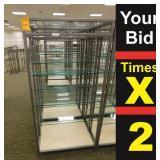 """Display 6 Shelf, 25""""X34""""X72""""h"""
