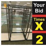 """Display 5 Shelf, 25""""X34""""X72""""h"""