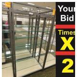 """Display 8 Shelf, 25""""X34""""X72""""h"""