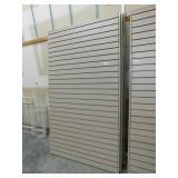 "(3) 48""X84""h Slat Board Wall"
