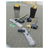 Cleaning Supplies, Trash Cans, Brooms and More