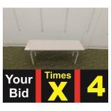 """14""""X45.5"""" Bench, Color Shade May Vary"""