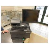IBM POS Station